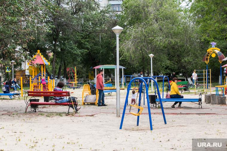 В городе открыли для посещения детский парк. Курган