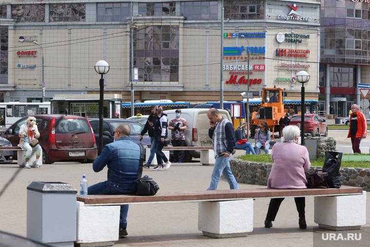 Спальные районы Москвы во время периода самоизоляции. Москва