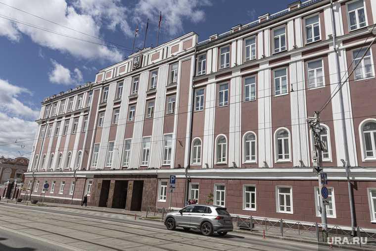 Административные здания, лето 2020 г. Пермь