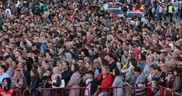 Минск митинг участники