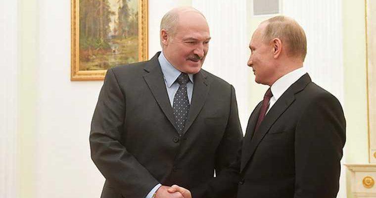 Лукашенко протесты в Белоруссии Путин