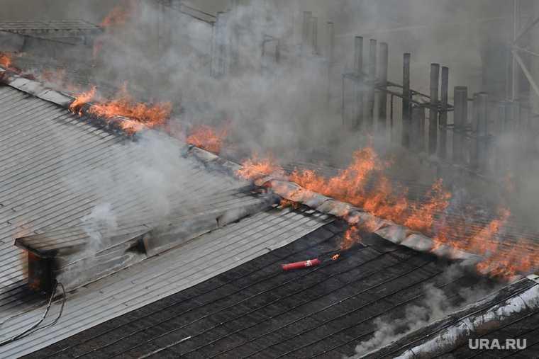 Пожар на хлебозаводе СМАК. Необр