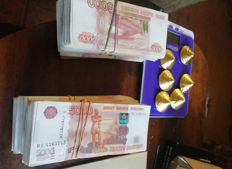 ФСБ перехватила груз золотых слитков в Челябинской области. ФОТО