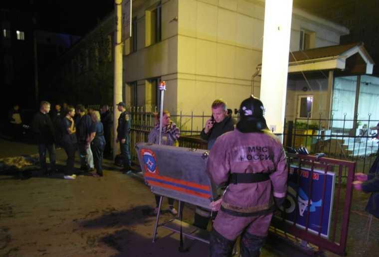 В Красноярске сгорела наркологическая клиника. Четверо погибли. ФОТО