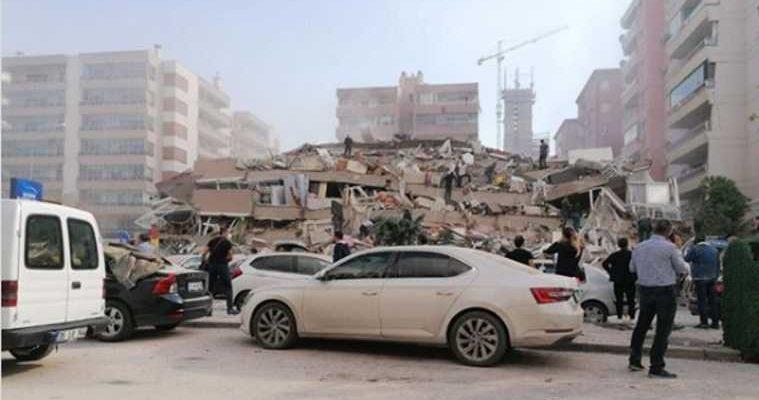 последствия землетрясения Измир