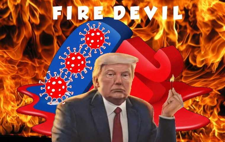 В соцсетях обрадовались тому, что Трамп заразился коронавирусом. Скрины