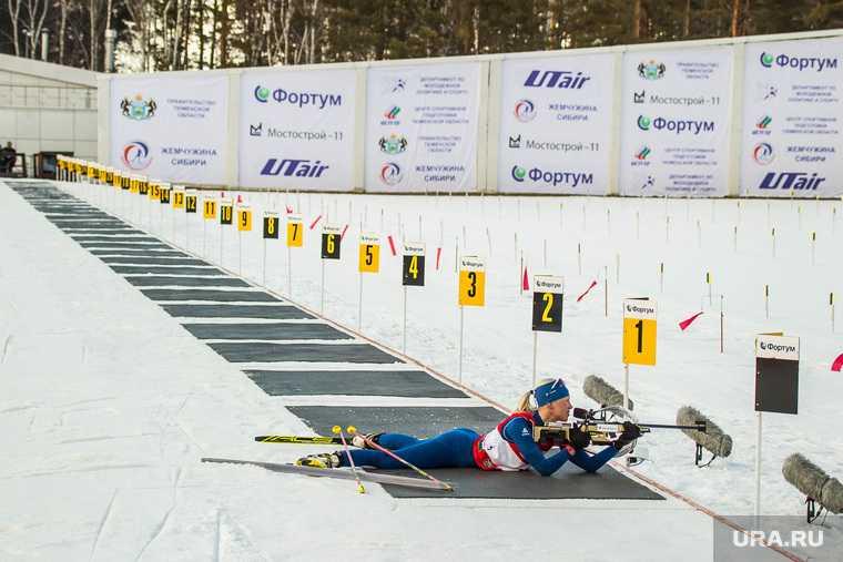 биатлон ХМАО Югра Тюменская область спортсмены Россия допинг соревнования