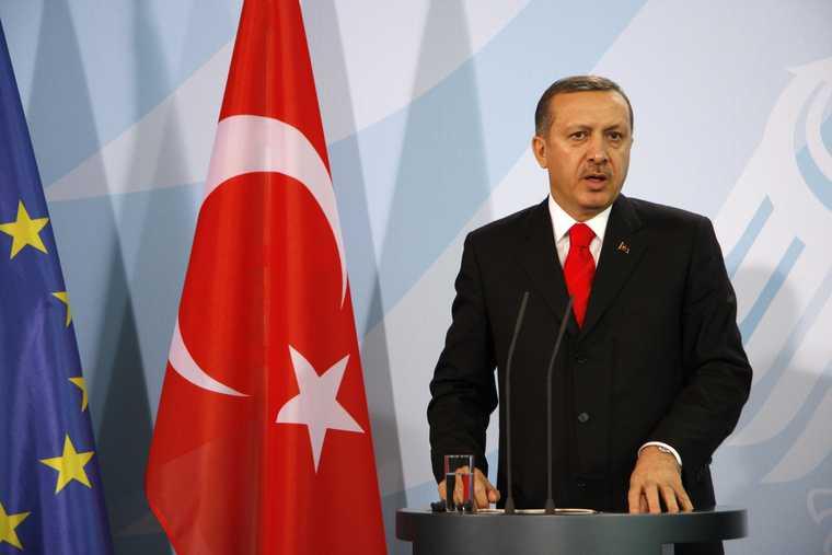 Президент Турции Реджеп Эрдоган локдаун