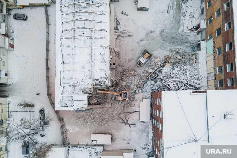 Екатеринбург ПРОМЭКТ конструктивизм Маяк бизнес застройка снос