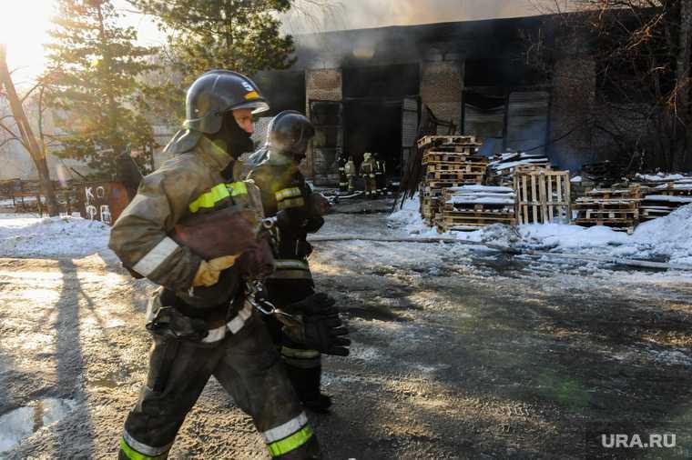 пожар Горно-Алтайск