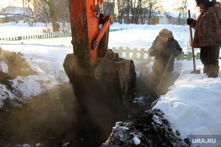Поселок Барсово коммунальные порывы жители замерзают