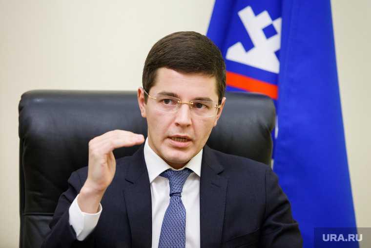 Губернатор ЯНАО Дмитрий Артюхов совещание Андрей Воронов
