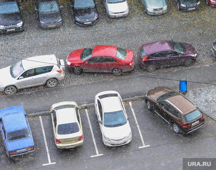 Челябинск парковка травматическое оружие полиция МВД