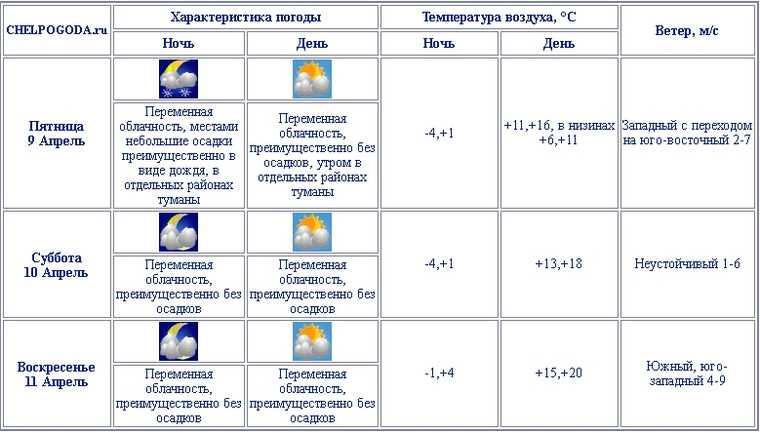 Челябинскую область затянет туманами. Скрин