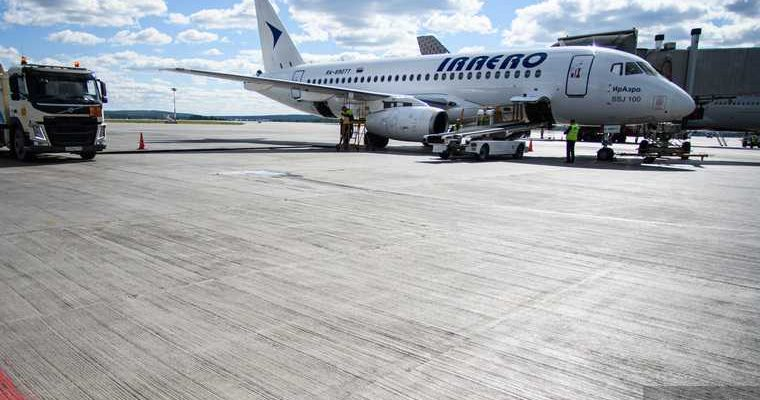 аэропорт Новый Уренгой ЯНАО