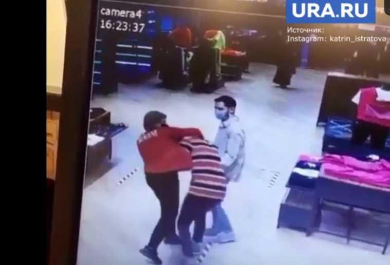 ТРЦ «Гринвич» «Nike — Мир спорта» начальница избила подчиненного Екатеринбург
