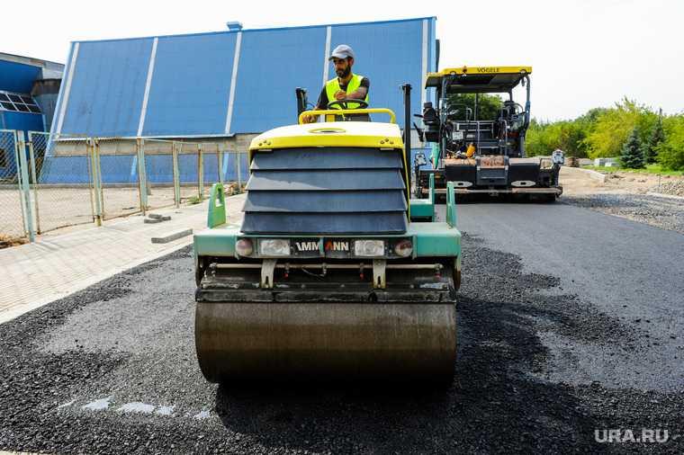 Челябинская область ремонт дорог шутка дорожники асфальт фреза