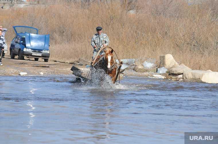 Челябинская область граница Казахстан дорога размыло пункт пропуска Мариинский закрыт