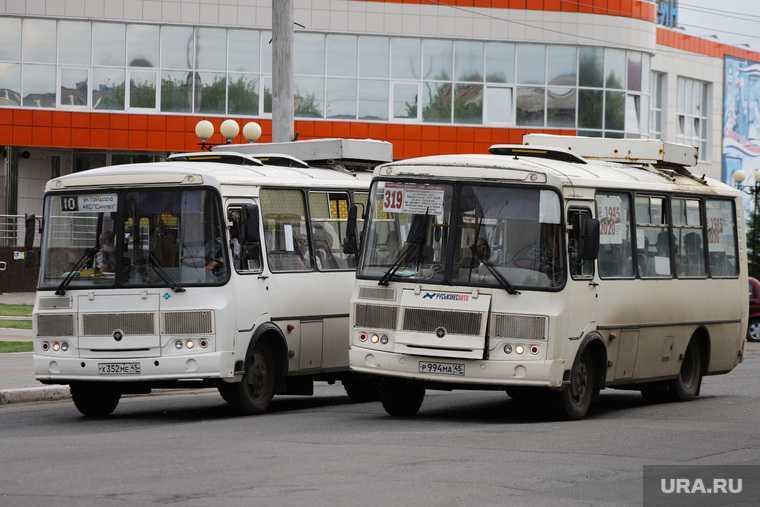 нехватка автобусов Курган