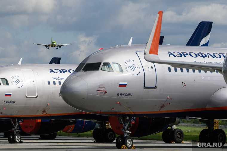 в московском аэропорту экстренно сел самолет