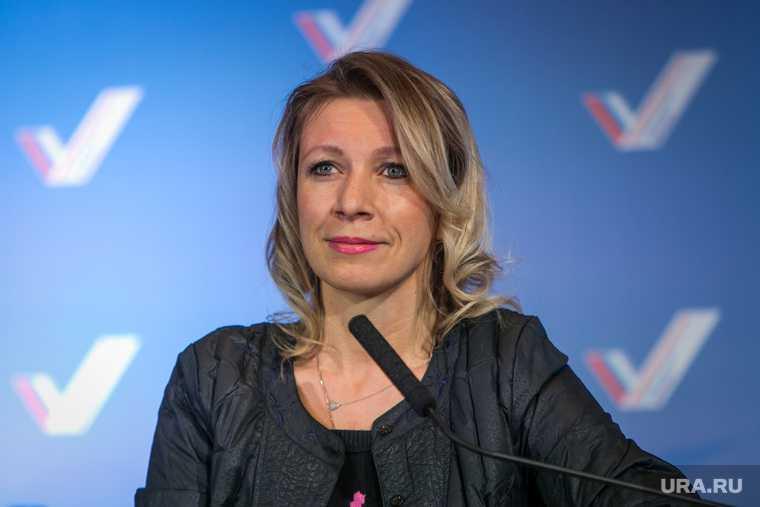 Захарова заявила что Россия сдерживает войну в Донбассе
