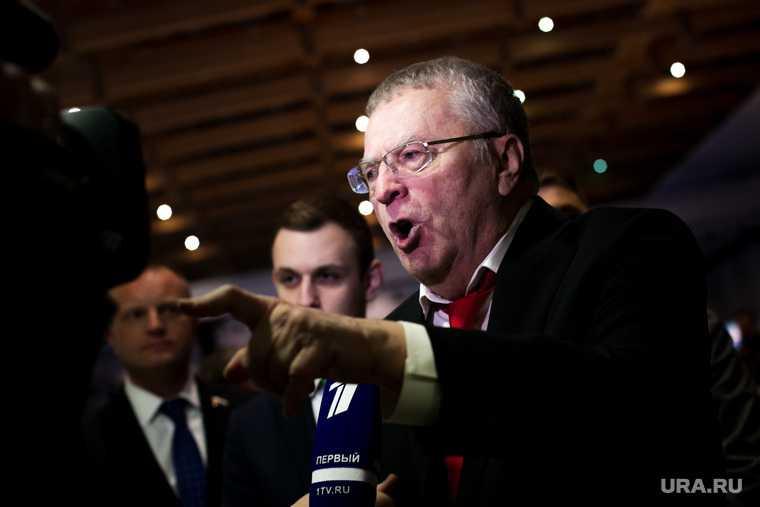 Жириновский высказался о политическим весе Зеленского