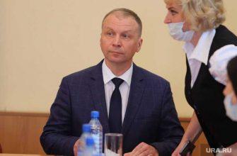 мэр Кургана Андрей Потапов