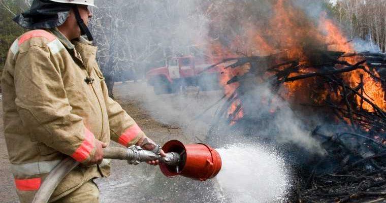пожары в Тюменской области