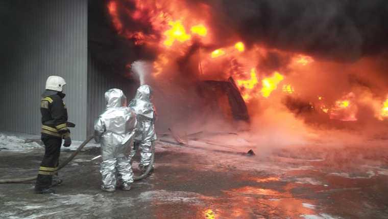 склад пожар Пермь