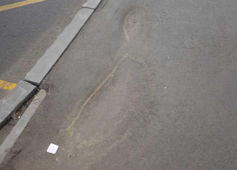 На новом проспекте в Кургане проваливается асфальт. Фото