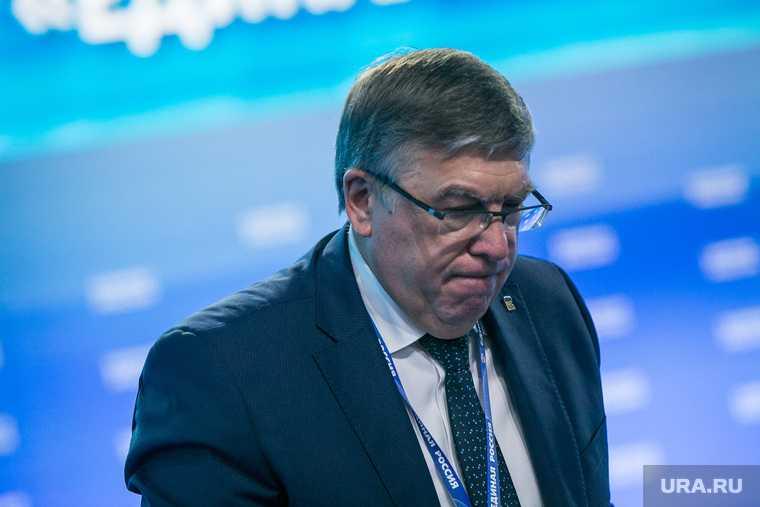 Валерий Рязанский совет федерации уход