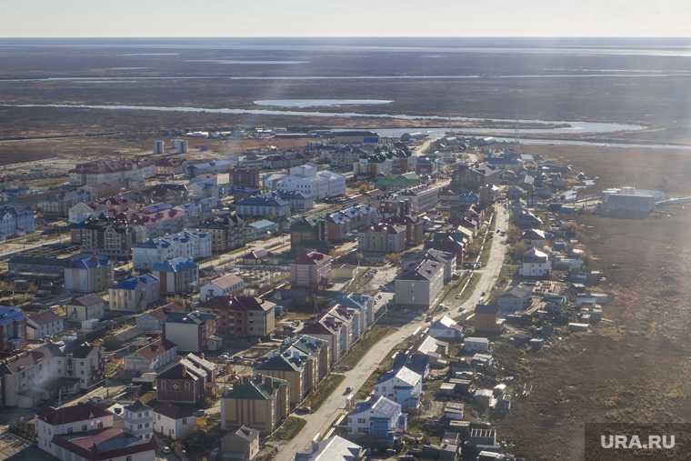 Яр-Сале Ямальский район ЯНАО реконструкция улиц