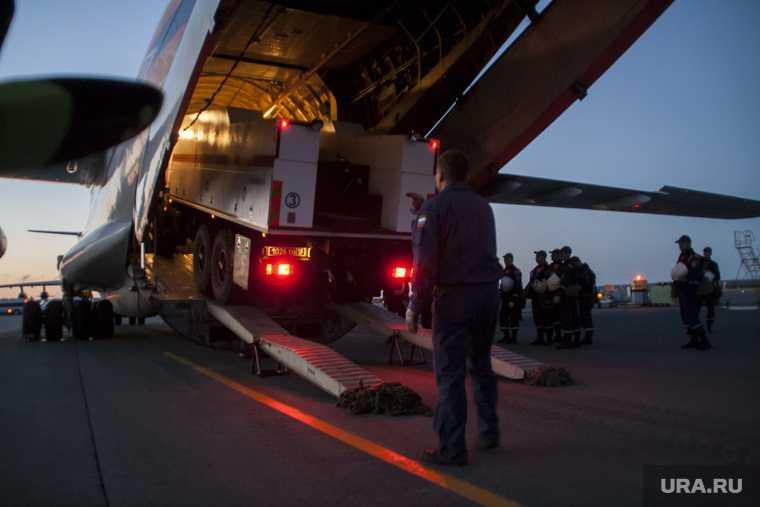 МЧС. Центр спасательных операций Лидер на Ямале