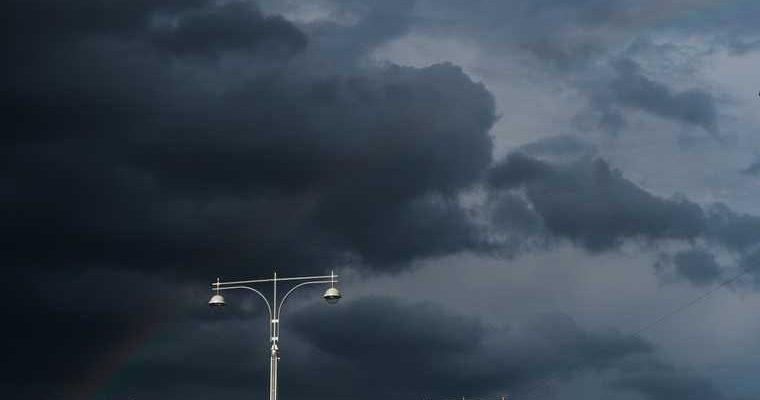 грозы и дождь в Пермском крае