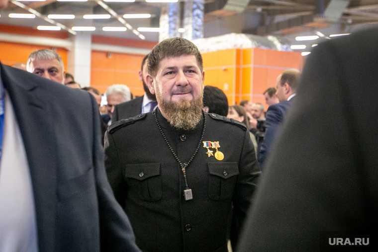 Путин Кадыров выборы Чечня