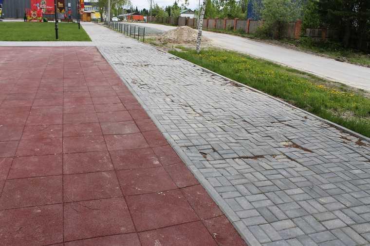 В ХМАО развалился парк, построенный год назад по нацпроекту